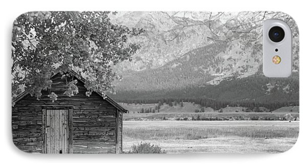 IPhone Case featuring the photograph Moulton Homestead - Granary by Colleen Coccia