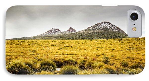 Mount Arrowsmith Tasmania Australia IPhone Case by Jorgo Photography - Wall Art Gallery