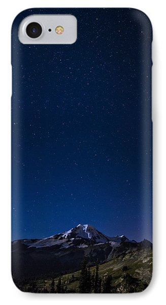 Mount Baker And The Heavens IPhone Case