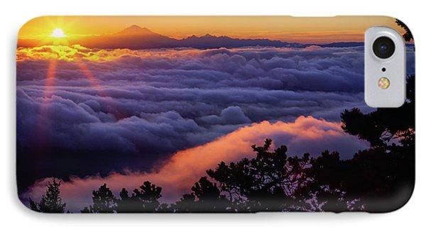 Mount Constitution Sunrise IPhone Case by Inge Johnsson