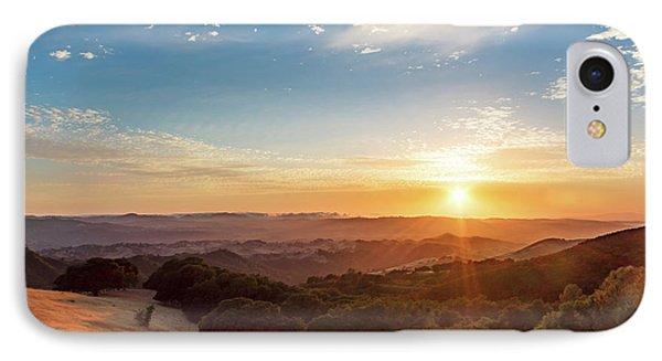 Mount Diablo Sunset IPhone Case
