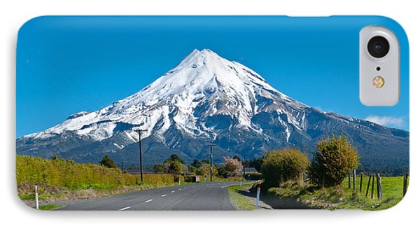 Mount Egmont Taranaki New Zealand IPhone Case
