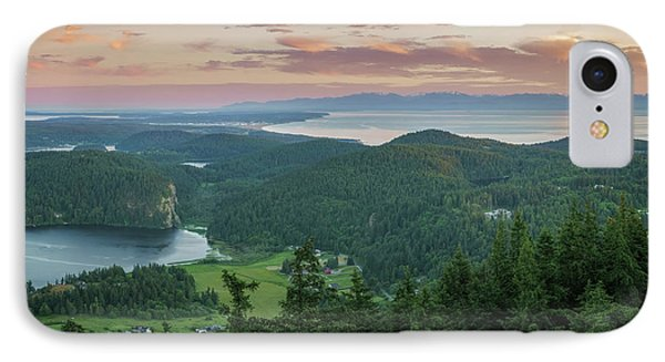 Mount Erie Viewpoint IPhone Case by Ken Stanback
