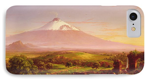 Mount Etna IPhone Case by Thomas Cole