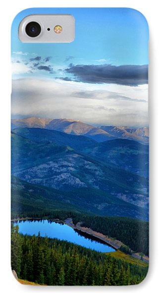 Mount Evans Painterly 2  IPhone Case by Angelina Vick