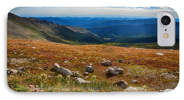 Mount Evans Tundra IPhone Case by Angelina Vick