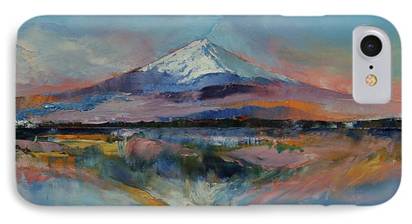 Mount Fuji IPhone Case by Michael Creese