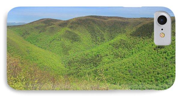 Mount Greylock Stony Ledge Spring Leafout IPhone Case by John Burk