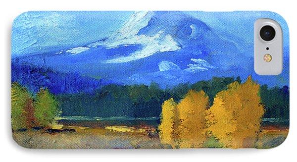 Mount Hood IPhone Case by Nancy Merkle