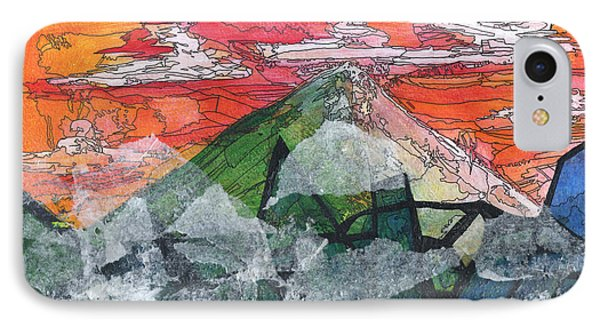 Mount Improbable Phone Case by Jessica Browne-White