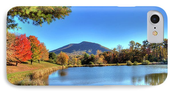 Mount Jefferson Reflection IPhone Case by Dale R Carlson