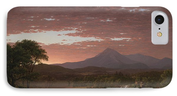 Mount Katahdin IPhone Case by Frederic Edwin Church