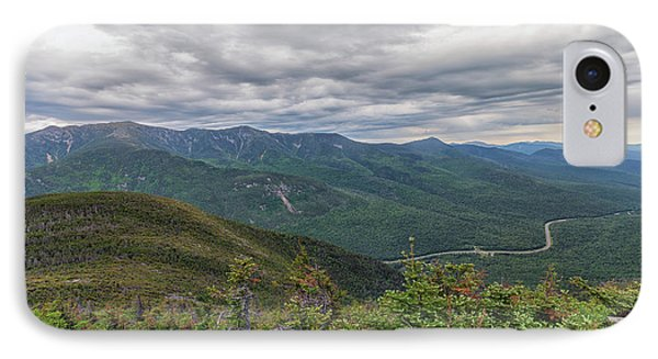 Mount Lafayette And Franconia Notch Parkway IPhone Case by Brian MacLean