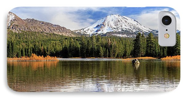 IPhone Case featuring the photograph Mount Lassen Autumn Panorama by James Eddy