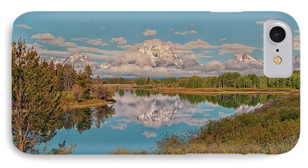 Mount Moran On Oxbow Bend Phone Case by Brian Harig