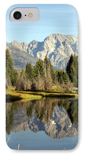 Mount Moran Reflections Phone Case by Marty Koch