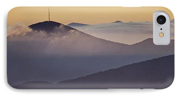 Mount Pisgah In Morning Light - Blue Ridge Mountains Phone Case by Rob Travis
