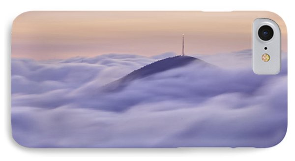 Mount Pisgah In The Clouds Phone Case by Rob Travis