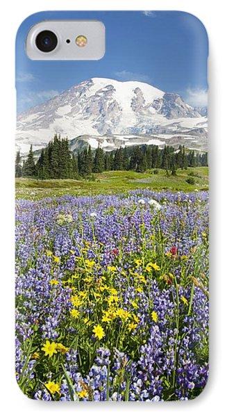 Mount Rainier National Park Phone Case by Craig Tuttle