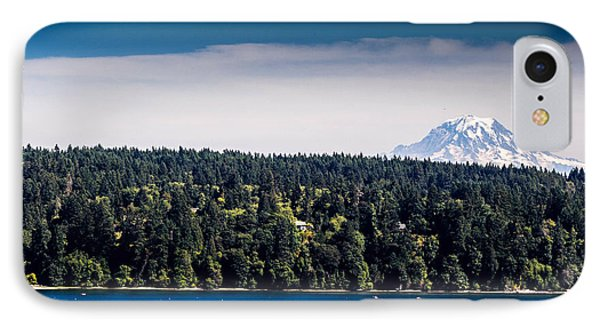 Mount Rainier IPhone Case by Randy Bayne