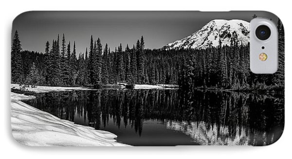 Mount Rainier Reflection IPhone Case