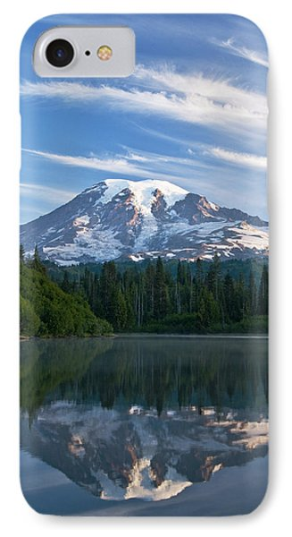 Mount Rainier Reflections IPhone Case by Greg Vaughn - Printscapes