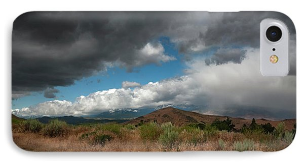 Mount Rose From Hidden Valley IPhone Case by Rick Mosher
