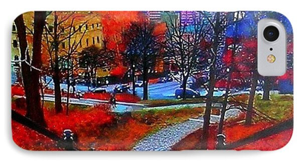 Mount Royal Peel's Exit IPhone Case by Marie-Line Vasseur