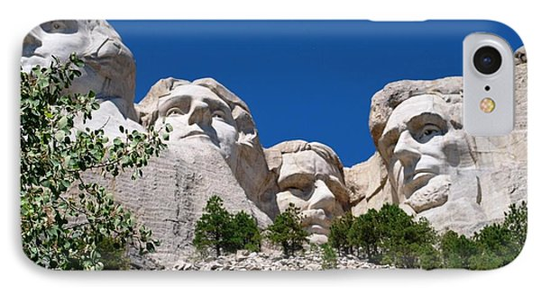 Mount Rushmore Close Up View IPhone Case by Matt Harang