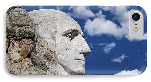 Mount Rushmore Profile Of George Washington IPhone 7 Case