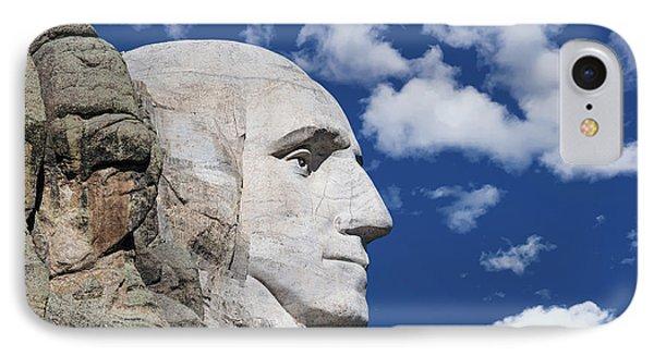 Mount Rushmore Profile Of George Washington IPhone Case
