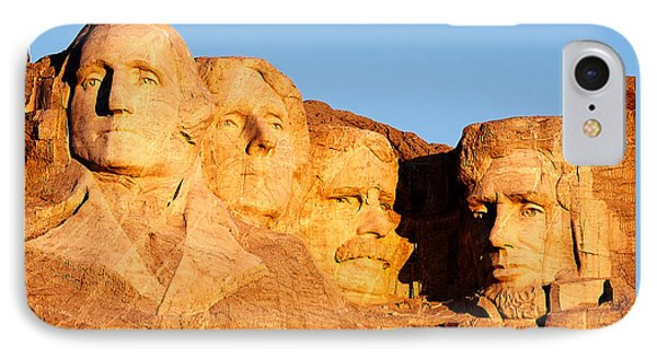 Mount Rushmore IPhone Case by Todd Klassy