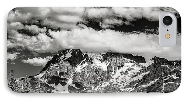 IPhone Case featuring the photograph Mount Shuksan Under Clouds by Jon Glaser