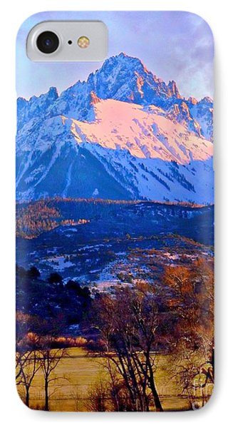 Mount Sneffels  Phone Case by Annie Gibbons