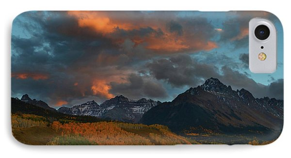 IPhone Case featuring the photograph Mount Sneffels Sunset During Autumn In Colorado by Jetson Nguyen