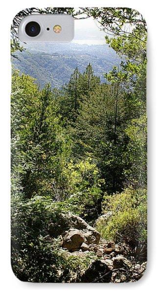 Mount Tamalpais Forest View IPhone Case by Ben Upham III