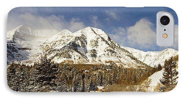 Mount Timpanogos Phone Case by Scott Pellegrin
