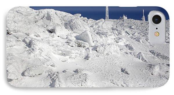 Mount Washington New Hampshire - Rime Ice Phone Case by Erin Paul Donovan