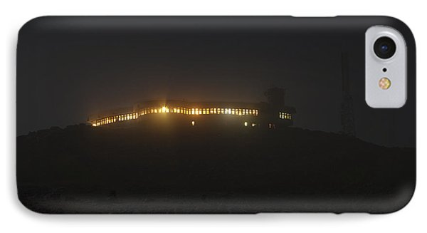 Mount Washington New Hampshire - Sherman Adams Building  Phone Case by Erin Paul Donovan