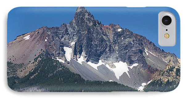 IPhone 7 Case featuring the photograph Mount Washinton Oregon State by Yulia Kazansky