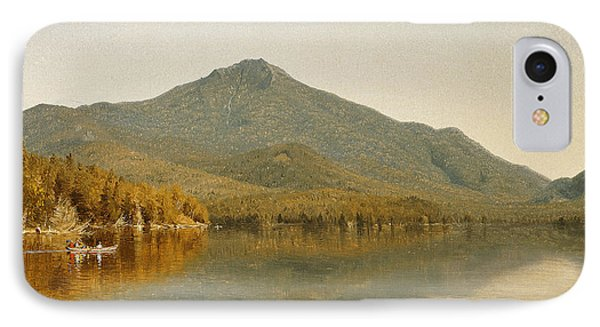 Mount Whiteface From Lake Placid Phone Case by Albert Bierstadt