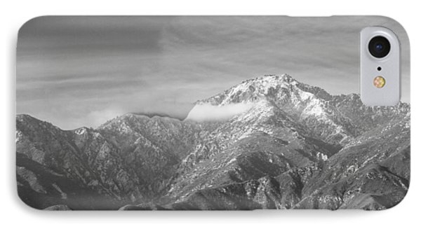 Mountain And Clouds IPhone Case by Robert Hebert
