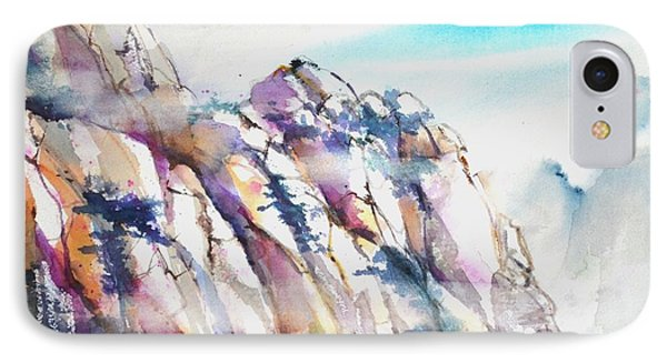 Mountain Awe #1 IPhone Case by Betty M M Wong