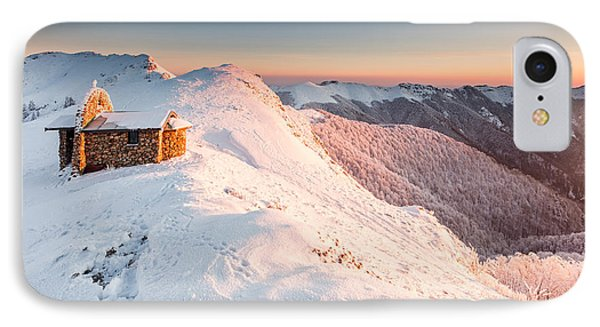 Mountain Chapel Phone Case by Evgeni Dinev