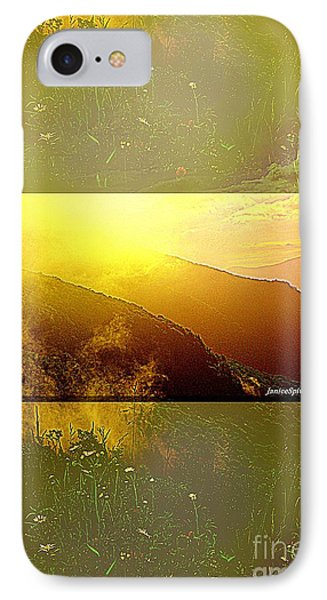 IPhone Case featuring the photograph Mountain Days by Janice Spivey