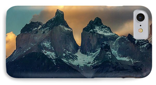 IPhone Case featuring the photograph Mountain Evening by Andrew Matwijec