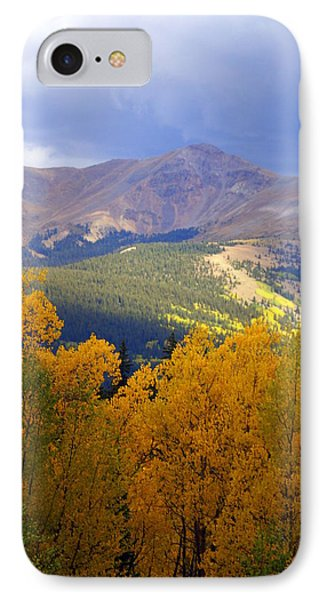 Mountain Fall Phone Case by Marty Koch