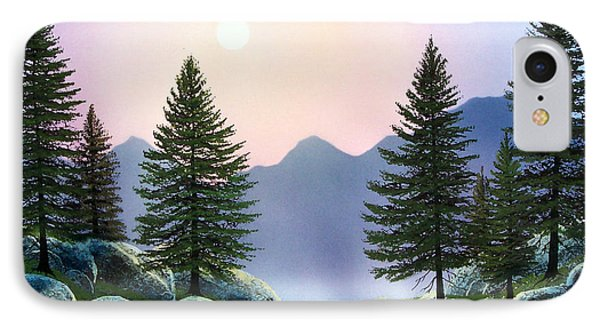 Mountain Firs Phone Case by Frank Wilson