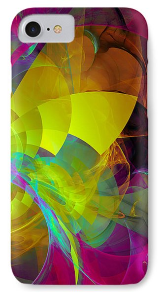Mountain Flower IPhone Case by Modern Art Prints