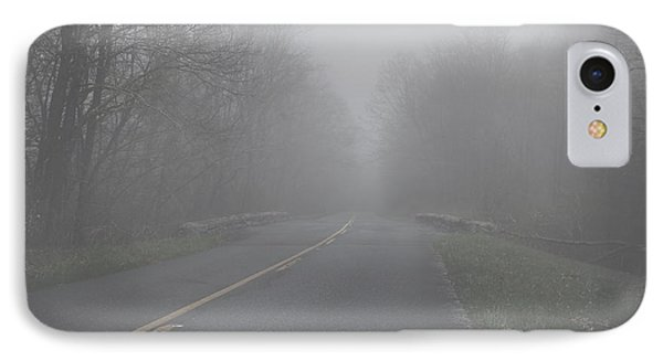 IPhone Case featuring the photograph Mountain Fog by Joseph G Holland